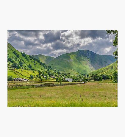 Hartsop Village Lake District Photographic Print