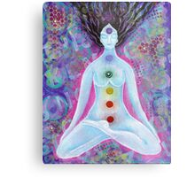 Check'in out my Chakras Metal Print