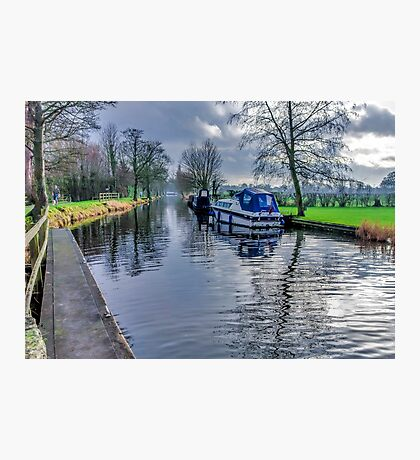 On The Canal Ripon Photographic Print