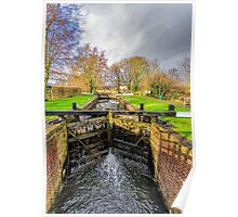 The Lock  Ripon Canal Poster