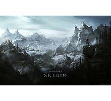Skyrim Landscape Poster Photographic Print