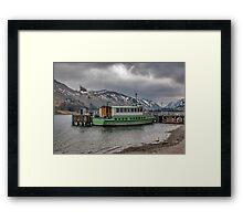 Tourist Boat at Glennridding Framed Print