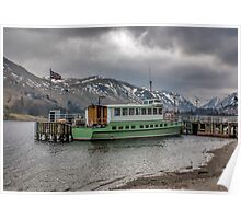 Tourist Boat at Glennridding Poster