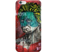 pop art Beethoven abstract ink painting  iPhone Case/Skin