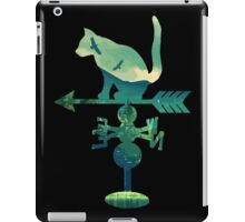 Vintage Cat Wind Compass Mountains iPad Case/Skin