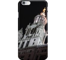 City Night Walks - Manhattan Municipal Building, a  Beaux-Arts Jewel iPhone Case/Skin