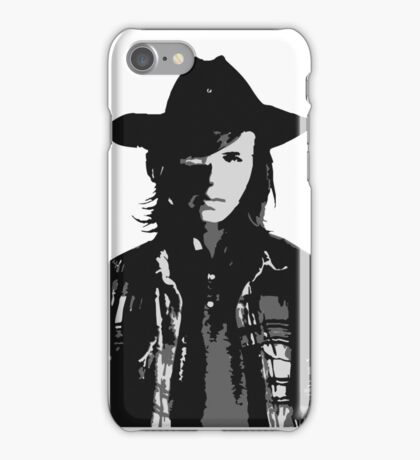The Walking Dead - Carl Grimes Profile iPhone Case/Skin