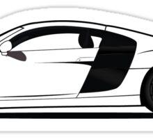 Audi R8 Sticker