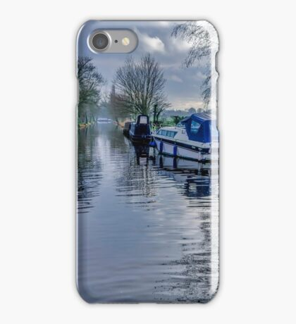 On The Canal Ripon iPhone Case/Skin