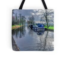 On The Canal Ripon Tote Bag