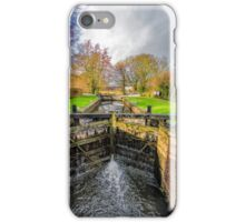 The Lock  Ripon Canal iPhone Case/Skin