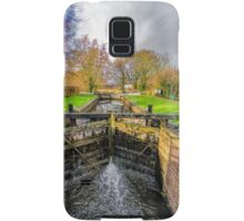 The Lock  Ripon Canal Samsung Galaxy Case/Skin