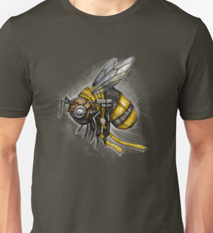 Bumblebee Shirt (Dark Background) Unisex T-Shirt