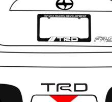 Toyota FRS TRD Sticker