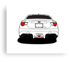 Toyota FRS TRD Canvas Print