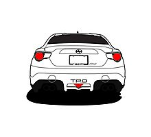 Toyota FRS TRD Photographic Print