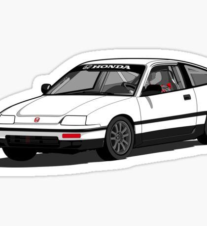 Honda CRX - Racecar Sticker