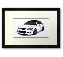 Mazda Mazdaspeed Framed Print