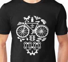 Bicycle - Skull Unisex T-Shirt
