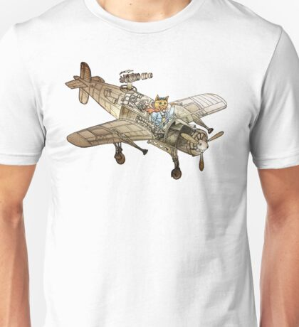 Flying Cat Unisex T-Shirt