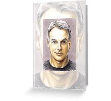 Mark Harmon miniature MH6 Greeting Card