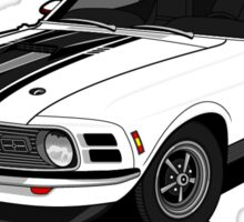 Ford Mustang - Mach 1 Sticker