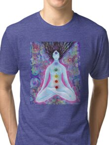 Check'in out my Chakras Tri-blend T-Shirt
