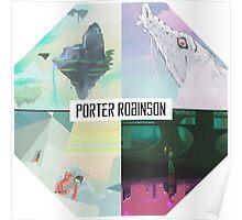 PORTER ROBINSON 【=◈︿◈=】4 WORLDS Poster