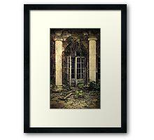 Forgotten chamber Framed Print