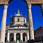 Italy. Milan. Basilica of San Lorenzo. by vadim19