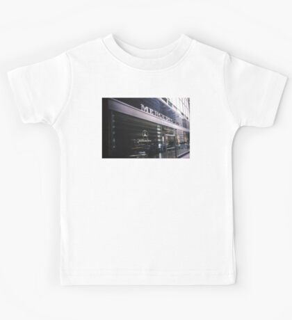 Gone... A piece of Architectural & Automotive History Kids Tee