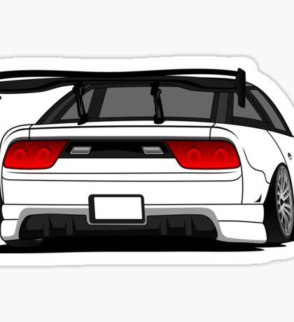 Nissan 240sx - s13 RC Car Sticker