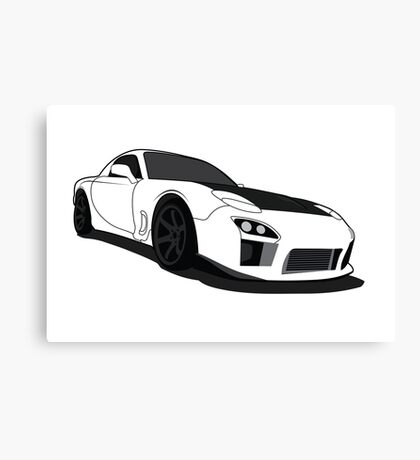 Mazda Rx7 FD Canvas Print