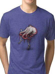 Octo Stilts Shirt (for light shirts) Tri-blend T-Shirt