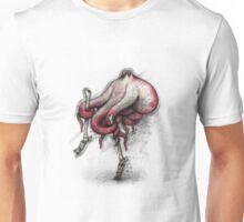 Octo Stilts Shirt (Light Background) Unisex T-Shirt