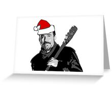 The Walking Dead - Negan Christmas Greeting Card