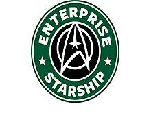 enterprise Starship Photographic Print
