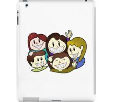 Friendship - boys and girls iPad Case/Skin