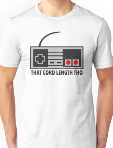 NES Nintendo Classic Edition Mini Controller Cord Length Tho Unisex T-Shirt