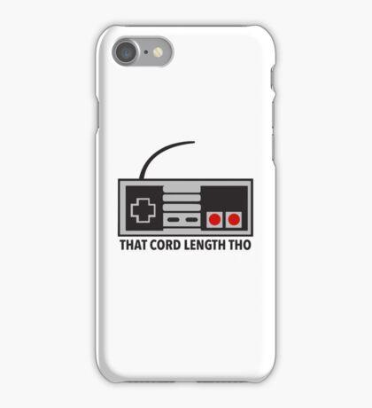 NES Nintendo Classic Edition Mini Controller Cord Length Tho iPhone Case/Skin