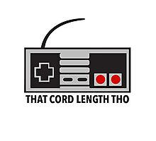NES Nintendo Classic Edition Mini Controller Cord Length Tho Photographic Print