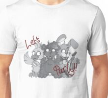 Freddy and the Gang - Greyscale Unisex T-Shirt