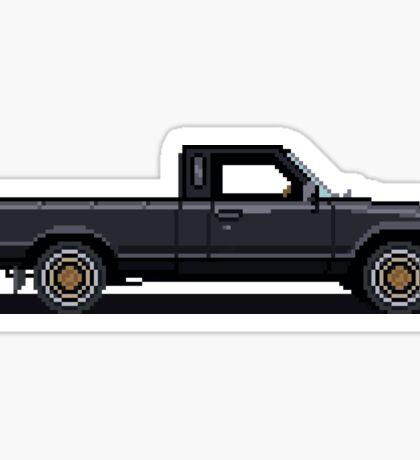 Pixel Truck Sticker