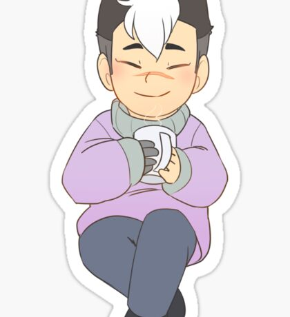 Holiday Shiro Sticker