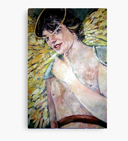 Christmas Angel Joshua Canvas Print