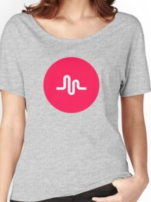 Musically Logo Premium Quality Women's Relaxed Fit T-Shirt