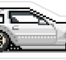 Nissan 300zx - Z31 Pixel Car - Z31 Shiro Sticker