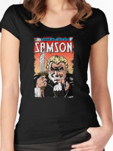 Samson Comics Women's Fitted Scoop T-Shirt