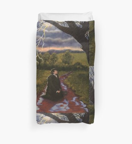 Martin Luther Reformation, The Storm Duvet Cover