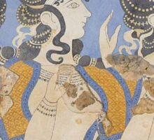 Ladies in Blue Sticker